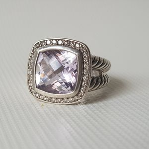 David Yurman Albion 11mm Lavender Amethyst Diamond